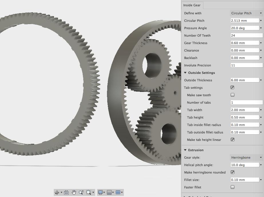 Gear Generator Fusion 360